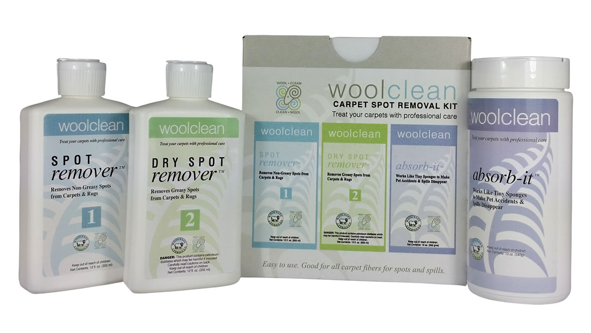 Woolclean Care Kit For Wool Carpets